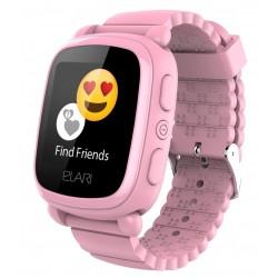 Детские умные часы ELARI KidPhone 2 Pink с GPS-трекером (KP-2P)