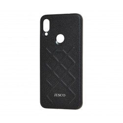 Чехол Jesco Leather Case for Xiaomi Redmi Note 8 Pro Black