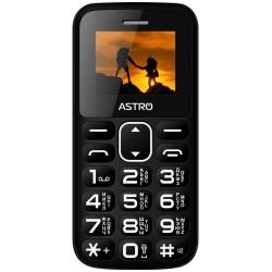 мобильный телефон (бабушкофон) Astro A185 Black
