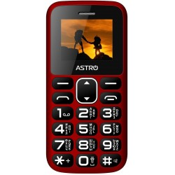 мобильный телефон (бабушкофон) Astro A185 Red