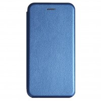 Чехол Premium Leather Case Realme 5/6i/C3 blue ...