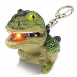 Брелок-фонарик Lego динозавр, лягушка