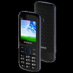 мобильный телефон Maxvi C15 Black-Blue