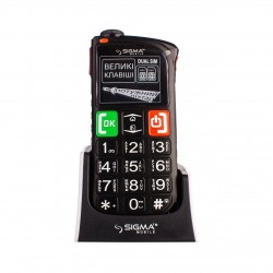 мобильный телефон Sigma Comfort 50 Light Dual SIM Black