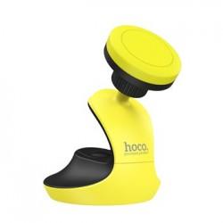 Холдер Hoco CA15 Magnetic Black/Yellow (Крепление присоска)