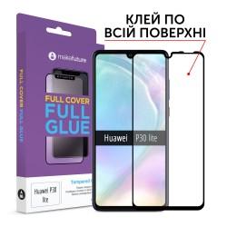 Защитное стекло MakeFuture Full Cover Full Glue Huawei P30 Lite