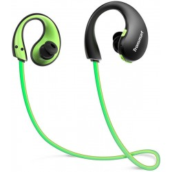 Наушники/гарнитура для телефона Tronsmart Encore Gleam Bluetooth Sports Earphone Green